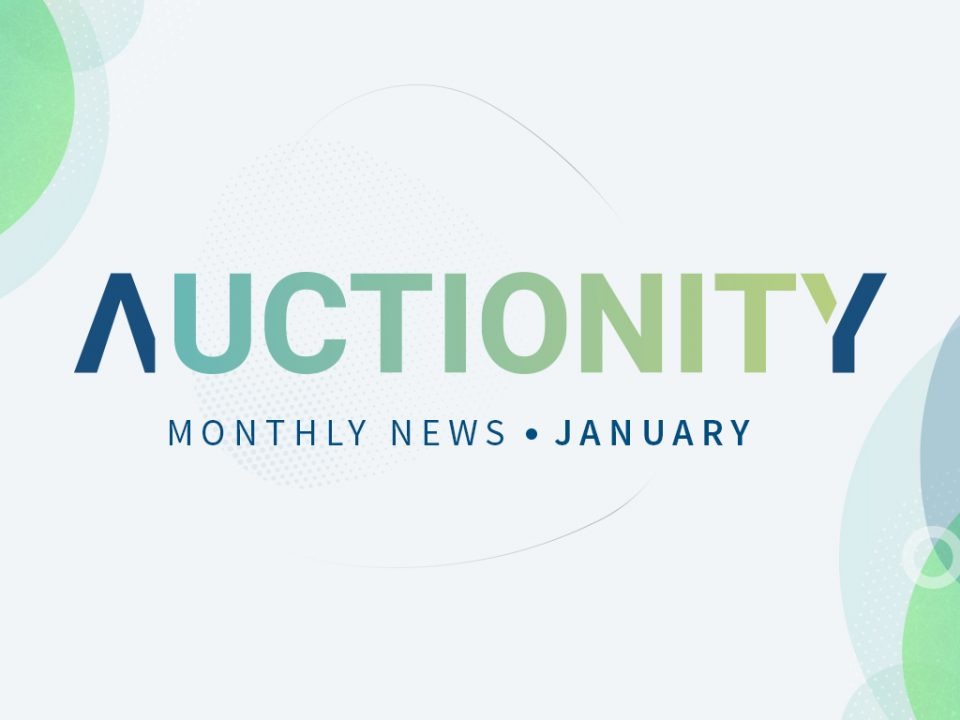 Auctionity Monthly News - January