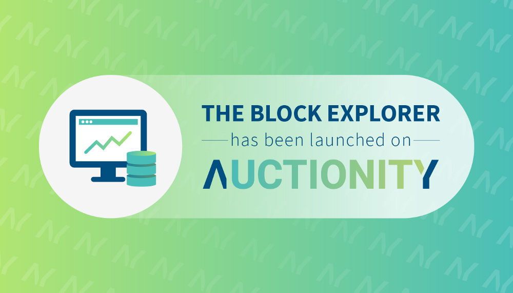 Auctionity block explorer
