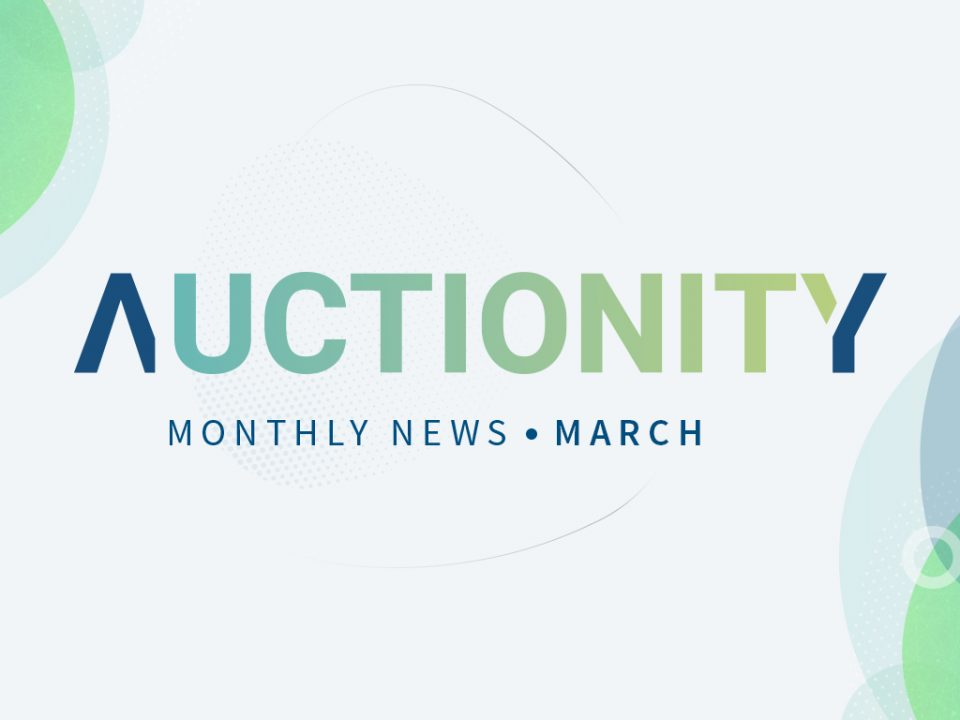 Auctionity Monthly News -March