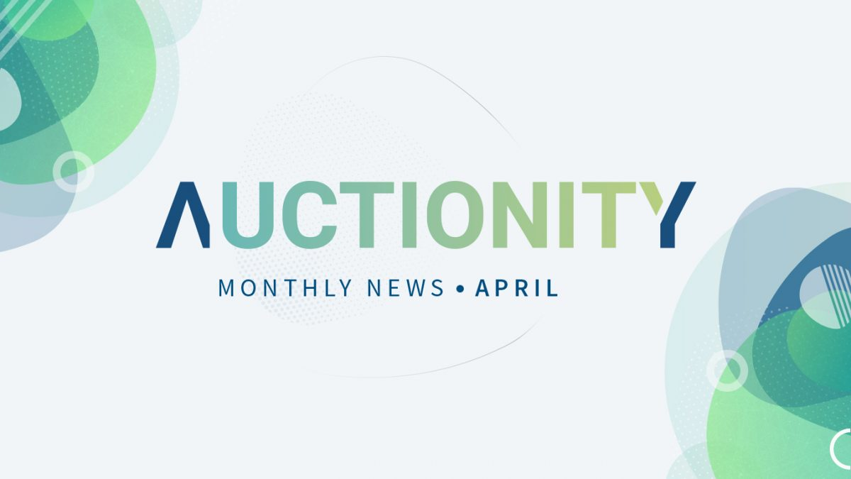 Auctionity Monthly News - April