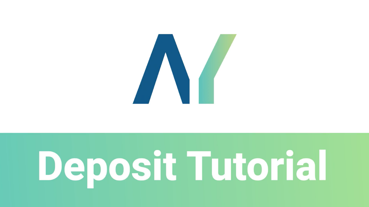 Auctionity deposit tutorial
