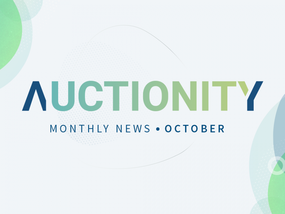 Auctionity Monthly news october