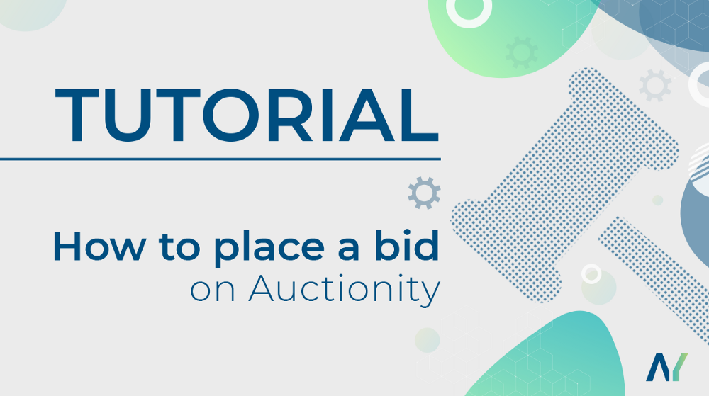 How to place a bid Auctionity