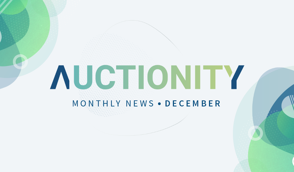 Auctionity Monthly News December 2018