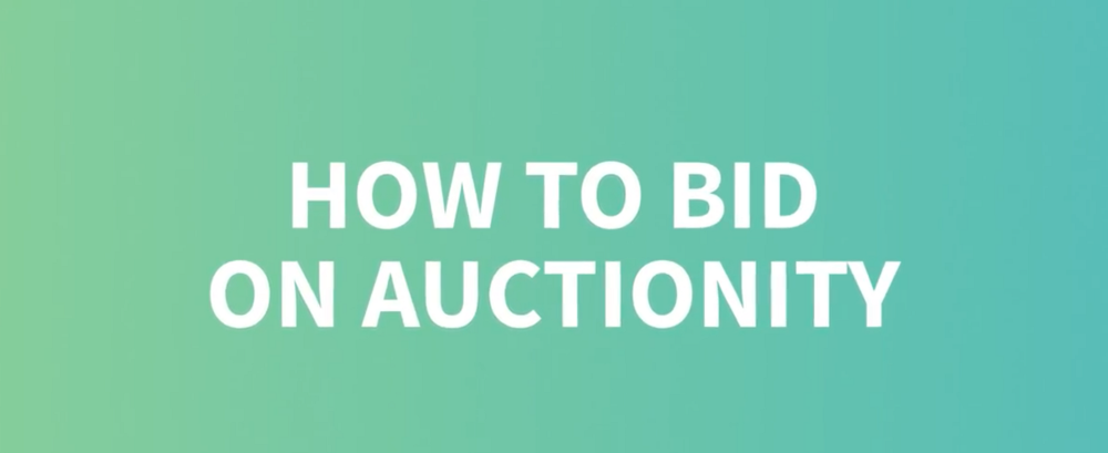 How to bid on Auctionity?