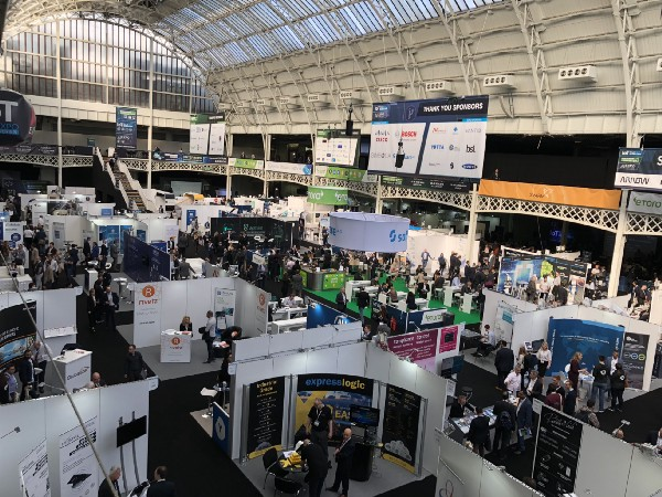 Booth Blockchain expo London 2018