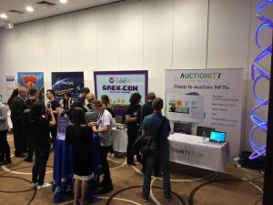 Auctionity booth