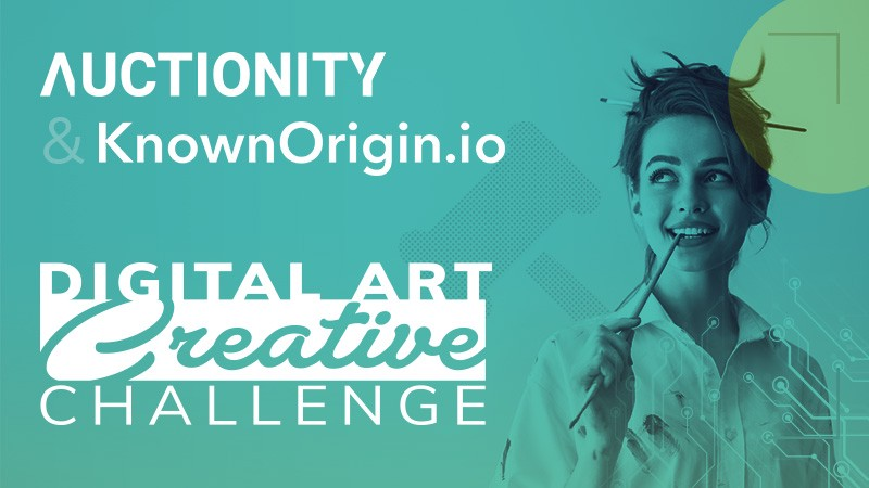 AUctionity partners with Known Origin in a Digital Art Creative Challenge
