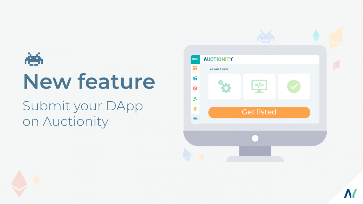 Submit your DApp on Auctionity