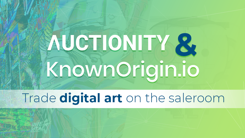 auctionity KnownOrigin banner